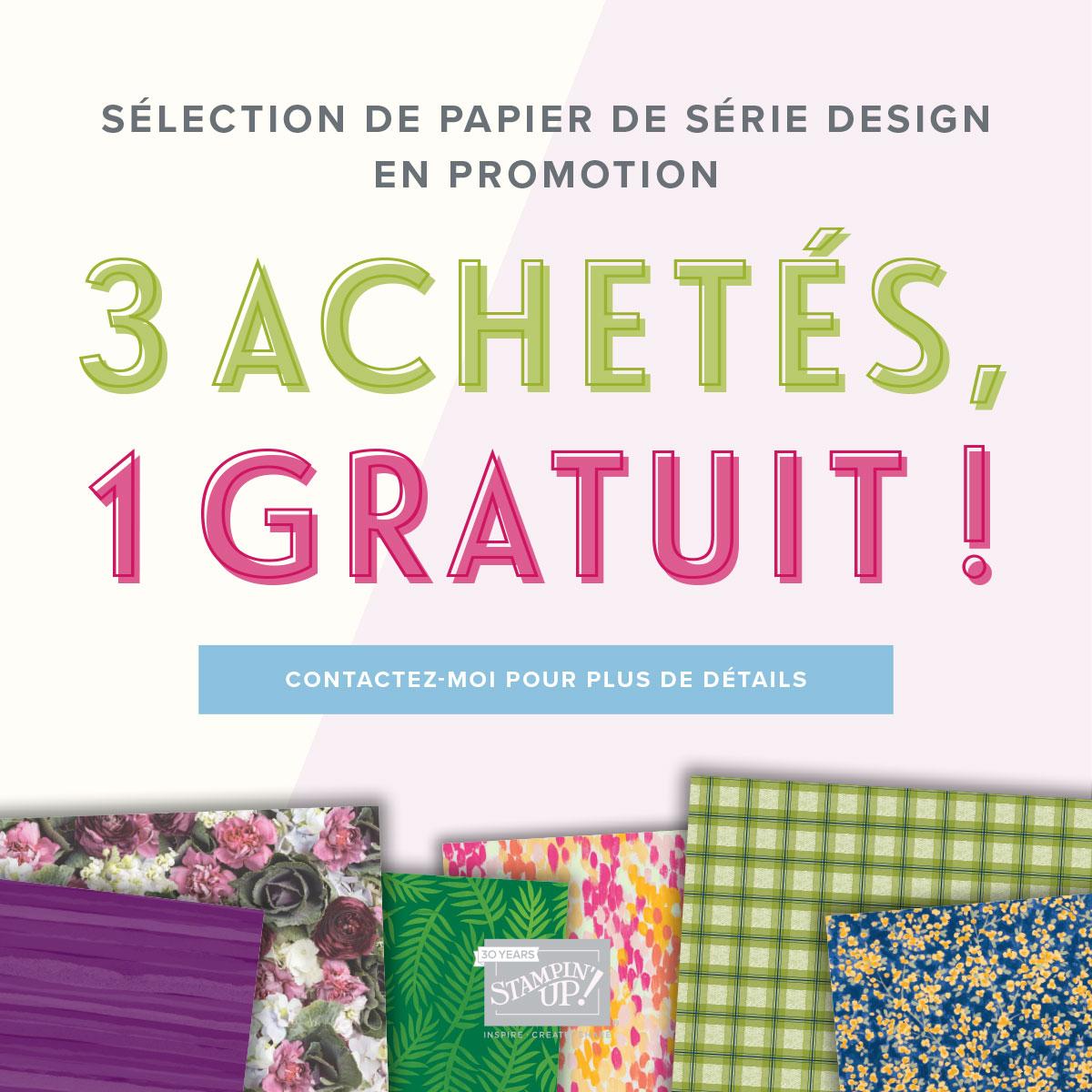 Promotion Papier Design !