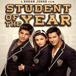 Student of the Year (2012 - movie_langauge) - Sidharth Malhotra, Sana Saeed, Alia Bhatt, Rishi Kapoor, Boman Irani, Varun Dhawan, Farida Jalal, Ronit Roy, Ram Kapoor, Kayoze Irani, Kitu Gidwani, Manjot Singh, Gautami Gadgil