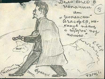 Mentiras sobre Stalin Bujarin+-+Dibujos+-+Trotsky