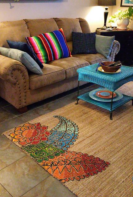 Wohnung im kolonialstil dekorieren und einrichten ideen for Wohnung dekorieren farben