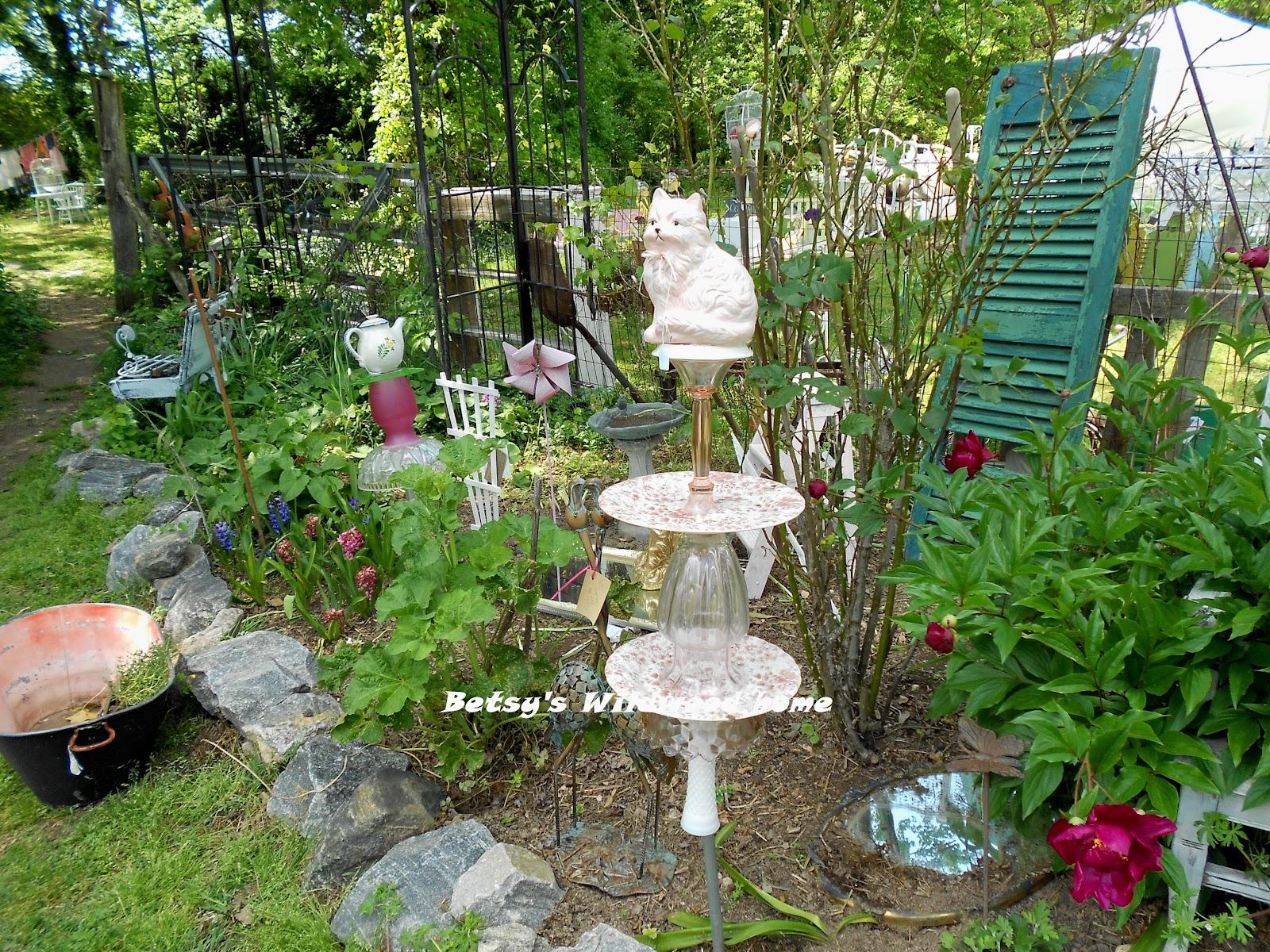 Whimsical Garden Art Photograph Lots Of Whimsical Garden Art