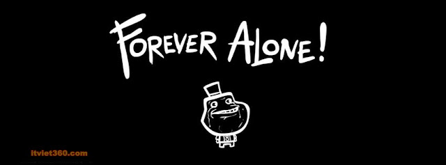 Ảnh bìa Facebook F.A - Cover FB Forever Alone,