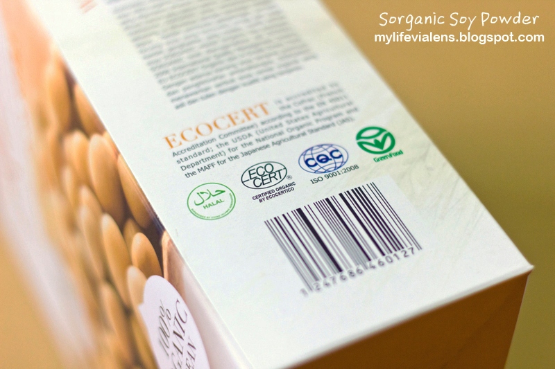 Sorganic Cereal Soy Powder