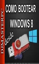 COMO GRABAR WINDOWS 8 EN UNA USB PARA SU INSTALACION