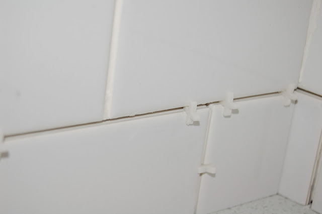 white, vintage, subway tile