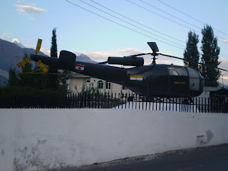 Indian Army helicopter, Gilgit