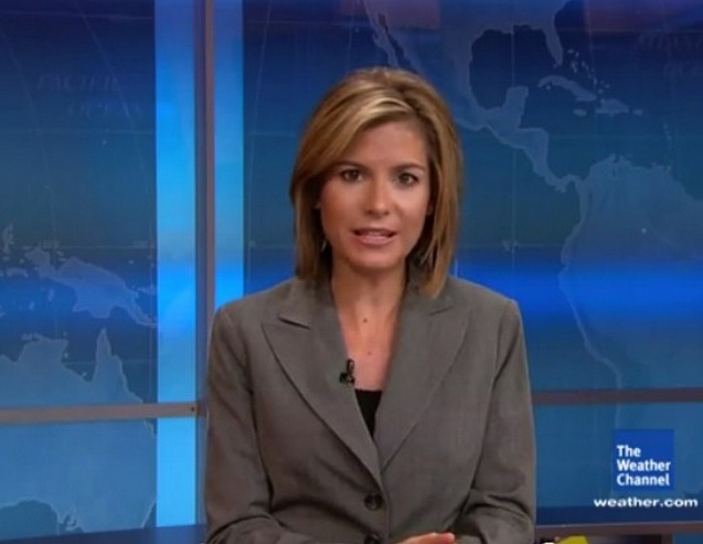 Weather Channel Girls : Top most beautiful weather women in the usa blue area