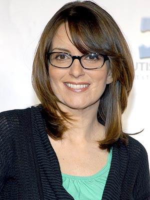 Tina Fey Hairstyles Medium Length Hairstyle With Bangs