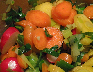 Chopped Sauteed Veggies
