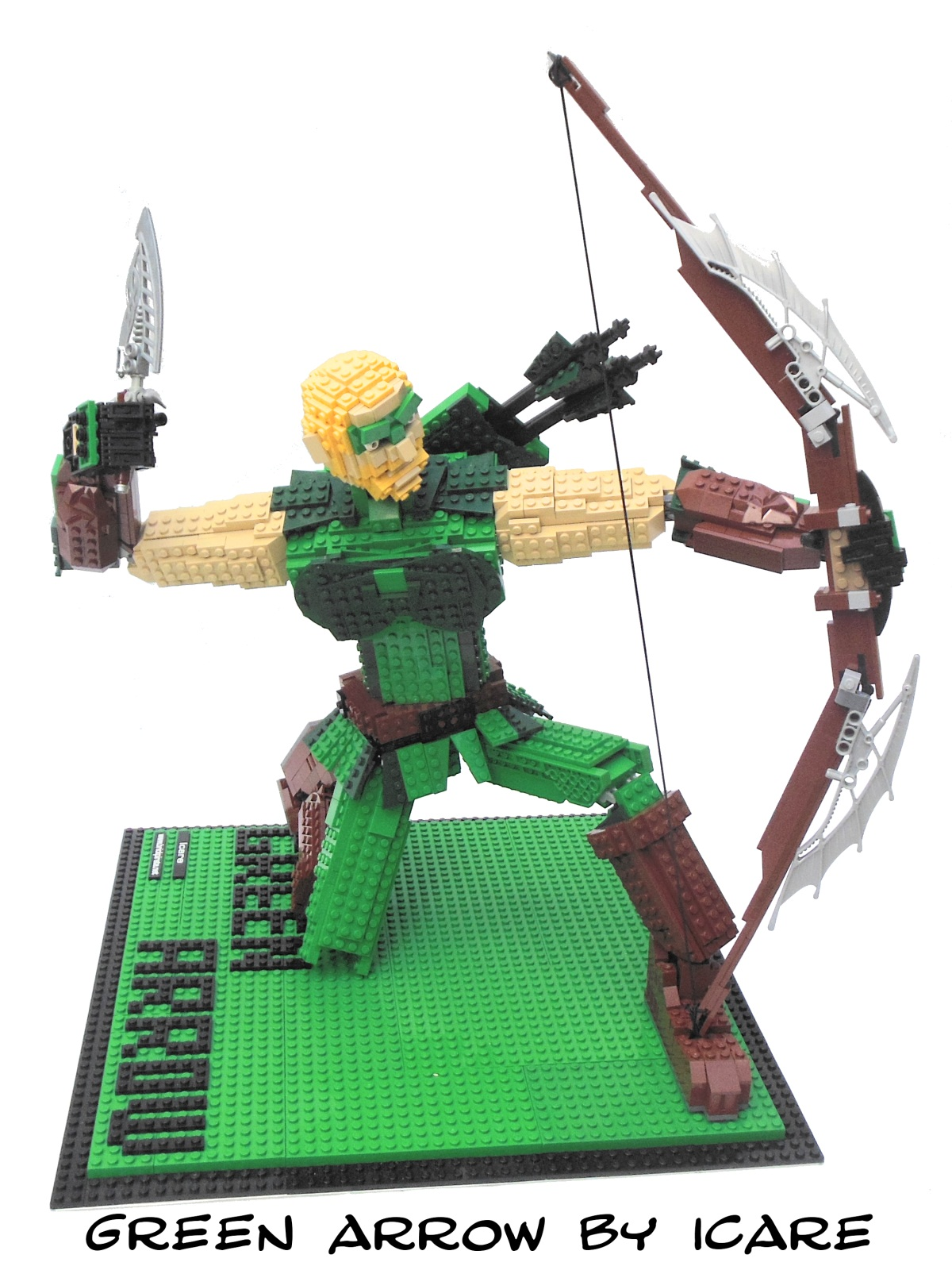 Comic-Con Exclusive Green Arrow Giveaway | Brickipedia | Fandom ...