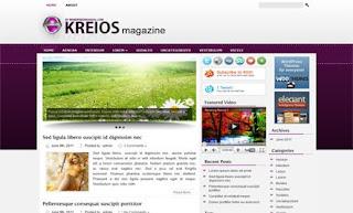 Kreios WordPress Theme