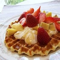 Weight Loss Recipes : Protein Waffle