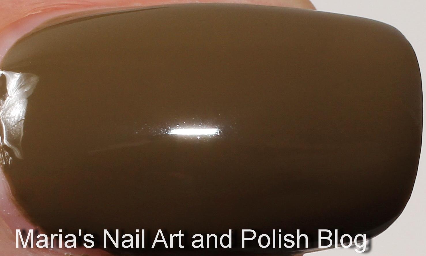 Marias Nail Art and Polish Blog: Chanel Khaki Brun