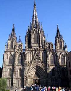 Barcelona: catedral Santa Eulália