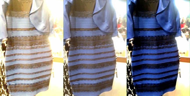 ¿Por qué vestido azul / negro / blanco / dorado se volvió viral?