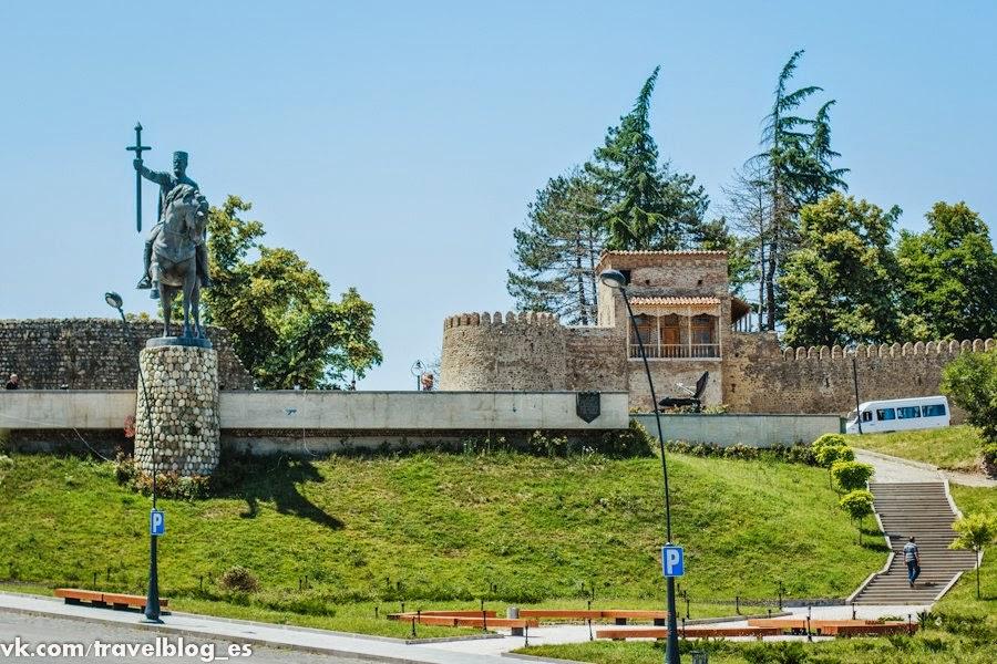 Крепость Батонис-цихе. Телави