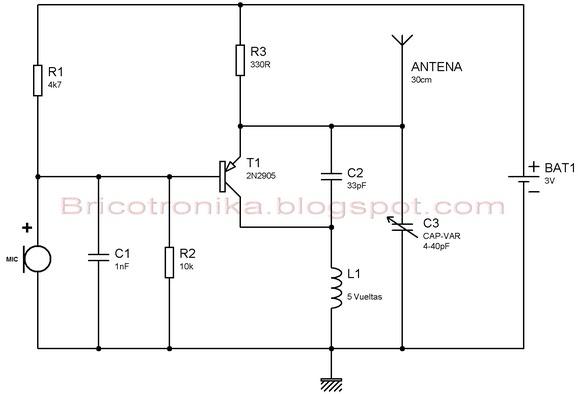 Circuito Sencillo : Circuito sencillo electronica circuitos electricos