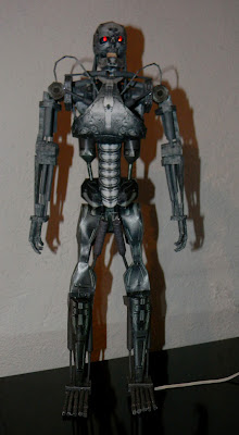 T 850 Terminator this papercraft is the terminator t 800 t 850 or t 101 created by jp ...