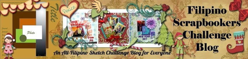 Filipino Scrapbookers Challenge Blog