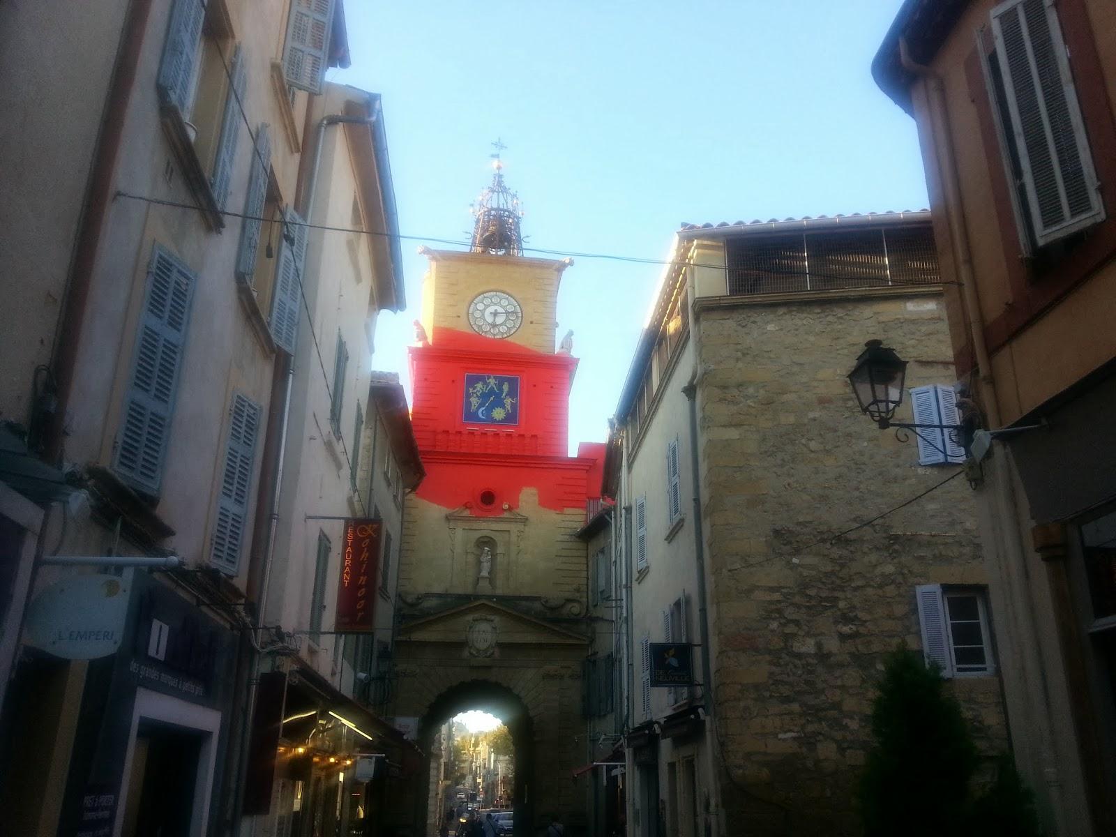 Positive eating positive living le gibassier de la for Porte de l horloge salon de provence