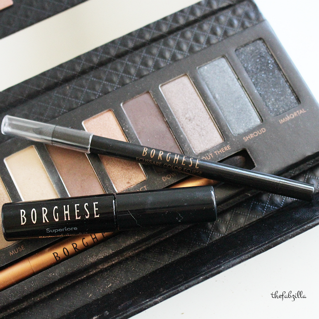 borghese eclissare shadow and light luminous eye palette, review, swatch