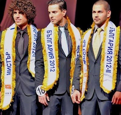 Mister Bulgaria 2012 Martin Ivanov