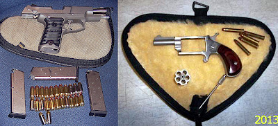 Loaded Firearms Discovered in Checked Bags