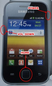 flashing stock rom on galaxy y if you are having your galaxy y
