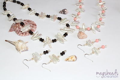 Freshwater Pearls Collection by MagsBeadsCreation