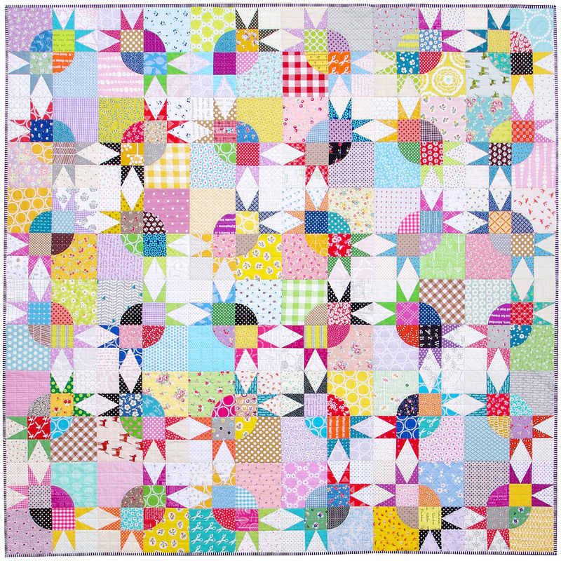 Pickle Dish Variation Quilt & Tutorial | Red Pepper Quilts