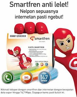 banyak yang menggunakan smartfren sebagai salah satu alternatif dalam
