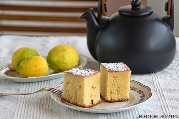 Bizcocho esponjoso de naranja cocinar en casa es - Bizcocho de limon esponjoso ...