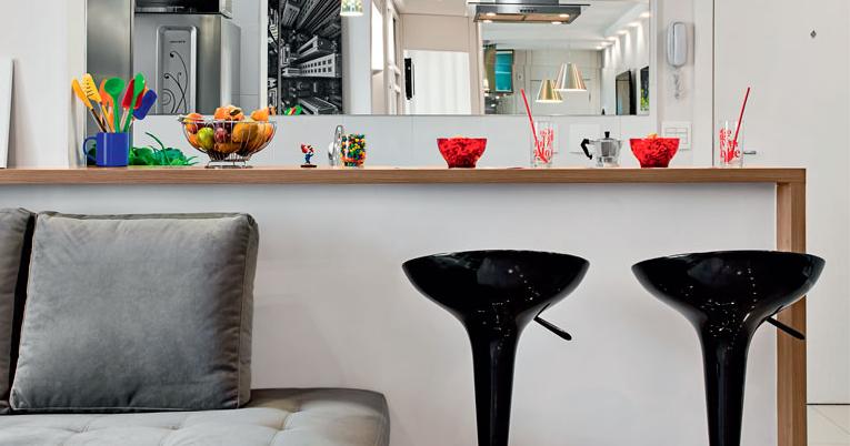 6 DICAS de como usar Balcões na sua Cozinha Americana ...