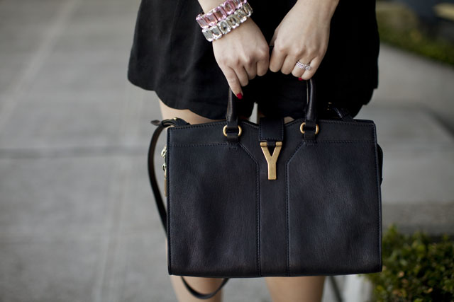 YOUR ULTIMATE GUIDE TO LUXURY: YSL Y (chYc) tote