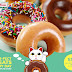 1 - 30 June 2015 Krispy Kreme 2 pcs doughnuts for $2 with JCB Card