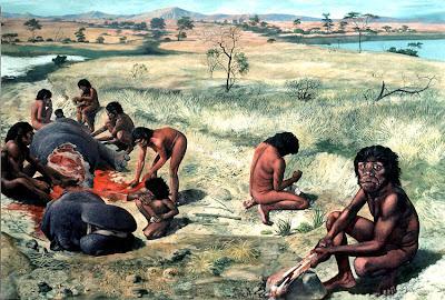 Prehistory Human Image