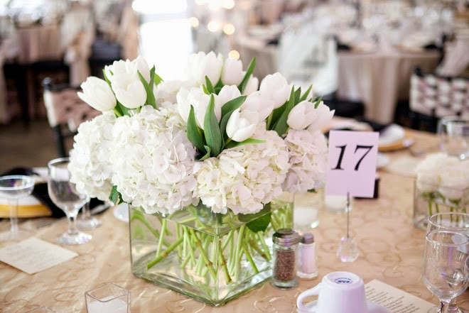 Black And White Wedding With A Touch Of Plum Belle The