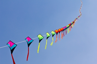 air quality online by allerair students use kites to measure air