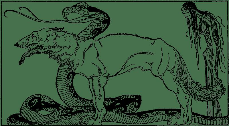 The Norse Mythology Blog   norsemyth.org: Questioning Loki ... Lokis Children Norse Mythology