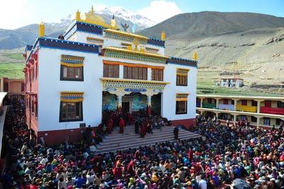 Urgyen Sangnag Choling, Spiti, Himachal Pradesh, India.