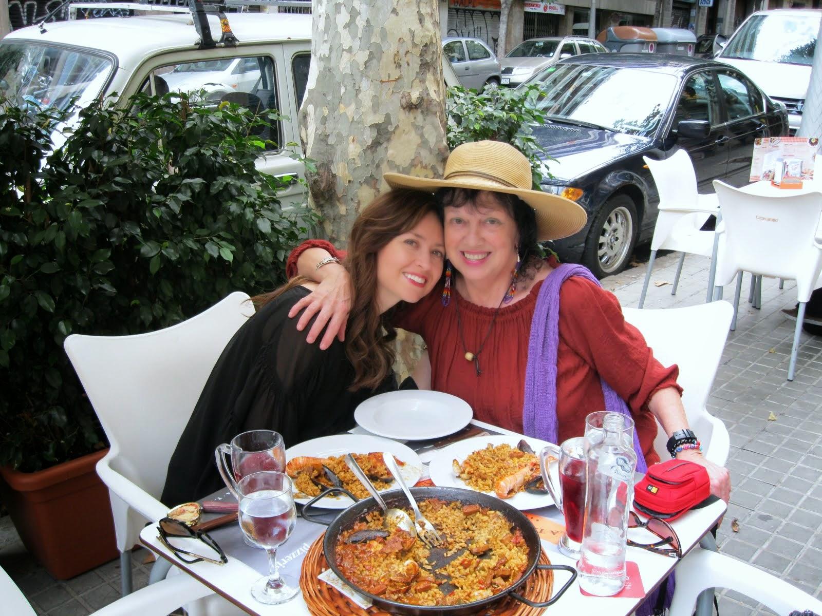 Shaylita y yo, Barcelona...2014