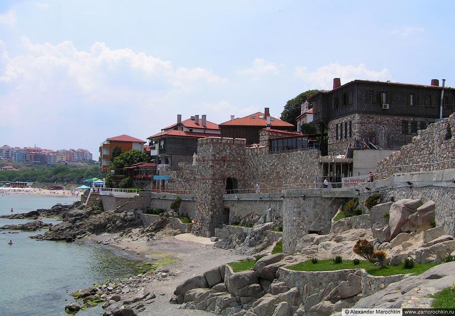 Южная крепостная стена Созополя |  South Fortress Wall of Sozopol