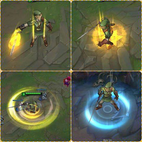Lovely Mod Skin Garen As Link Is Free Tool To Change The Default Skin Game League  Of Legends (LOL) PHILIPPINES. The Program Will Automatically Find The Path  The ...