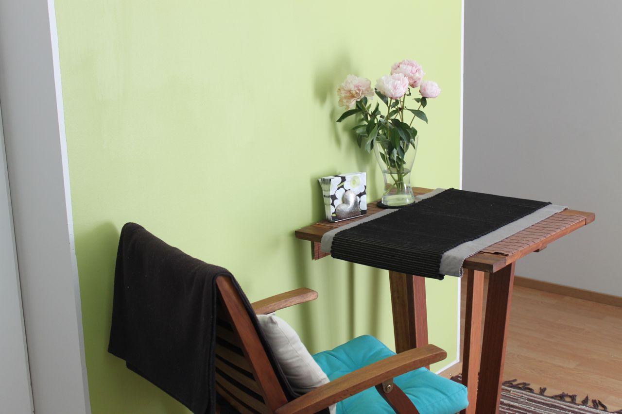 Helmiä ja pippuria The Green Wall