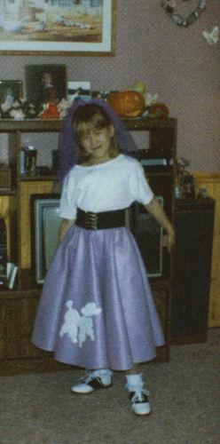 Jennifer Poodle Skirt Halloween