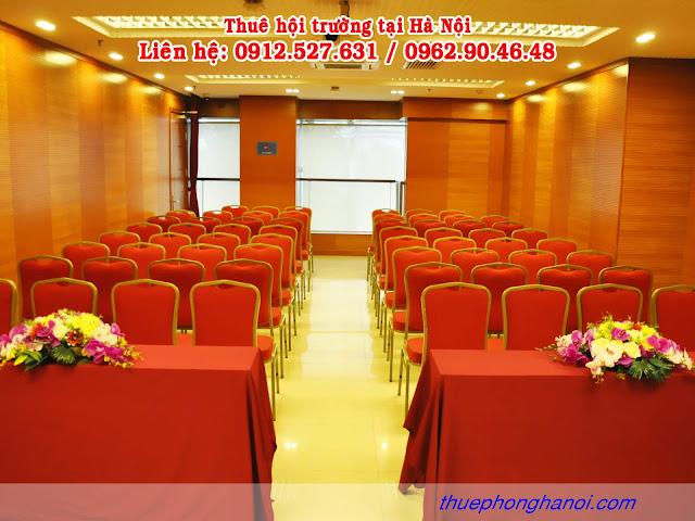 Phòng hội trường cho thuê tại hà nội