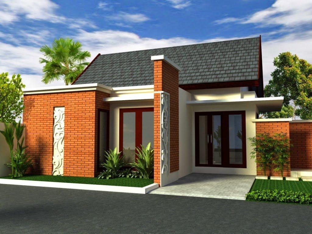 Rumah Minimalis 1 Lantai Bernuansa Tropis Modern