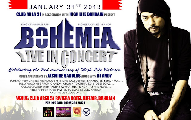 BOHEMIA LIVE IN BAHRAIN JANUARY 31st 2013! full video download