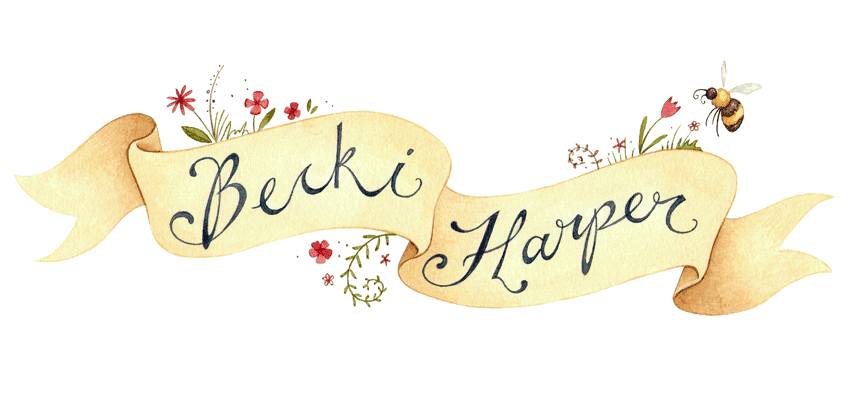 Becki Harper Illustration - Blog