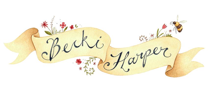 Becki Harper Illustration - Blog